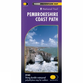 Harvey Maps Pembrokeshire Coast Path Map 1:40K
