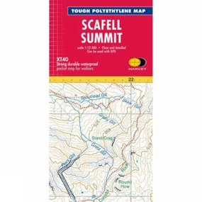 Harvey Maps Scafell Summit Map 1:12.5K