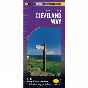 Harvey Maps Cleveland Way Map 1:40K