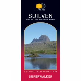 Harvey Maps Suilven Map 1:25K