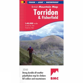 Harvey Maps Torridon & Fisherfield British Mountain Map 1:40K