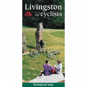 Harvey Maps Livingston For Cyclists Map 1:15K