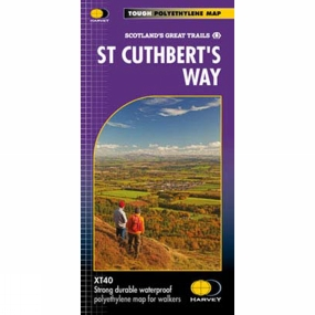 Harvey Maps St Cuthberts Way Map 1:40K
