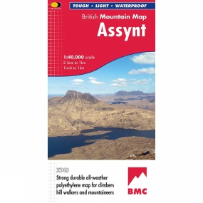 Harvey Maps Assynt British Mountain Map 1:40K