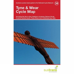 Sustrans Tyne & Wear Cycle Map 34
