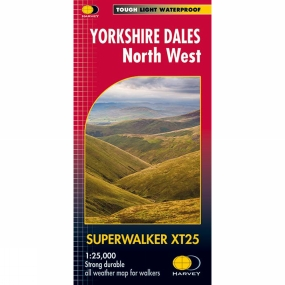 Harvey Maps Yorkshire Dales North West Superwalker 1:25K