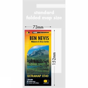 Harvey Maps Ben Nevis Ultra Map 1:40K