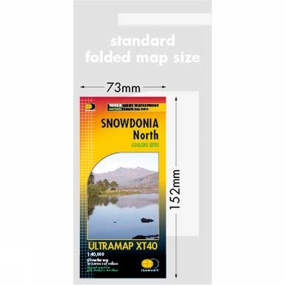 Harvey Maps Snowdonia North Ultra Map 1:40K