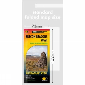 Harvey Maps Brecon Beacons West Ultra Map 1:40K