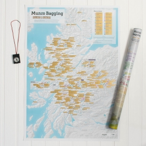 ITMB ITMB Munro Bagging Collect & Scratch Map 1sr, May 2017