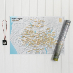 ITMB ITMB Wainwright Summits Collect & Scratch Map 1st, May 2017