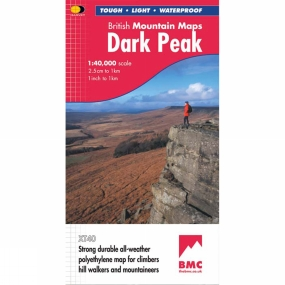 Harvey Maps Dark Peak British Mountain Map 1:40K