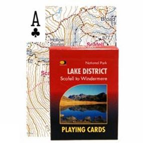 Harvey Maps Lake District: Scafell to Windermere Cards