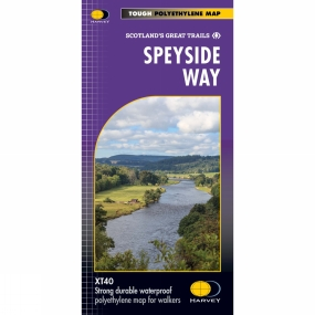 Harvey Maps Speyside Way Map 1:40K