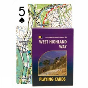 Harvey Maps West Highland Way Playing Cards