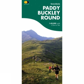 Harvey Maps Paddy Buckley Round Map 1:40K