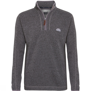 Mens Talas Soft Knit 1/4 Zip Fleece