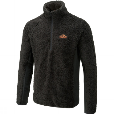 Mens Bear Polar Half Zip Microfleece