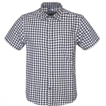 Mens Short Sleeve Garnet Shirt