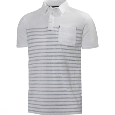 Mens Koster Striped Polo