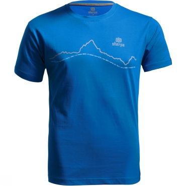 Mens Nepal Skyline T-Shirt