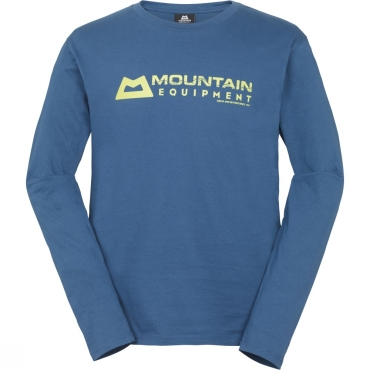 Mens Branded Long Sleeve Tee