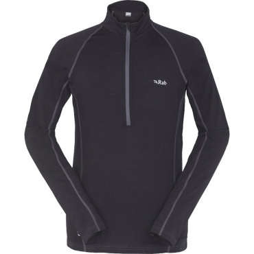 Mens MeCo 165 Long Sleeve Zip Tee