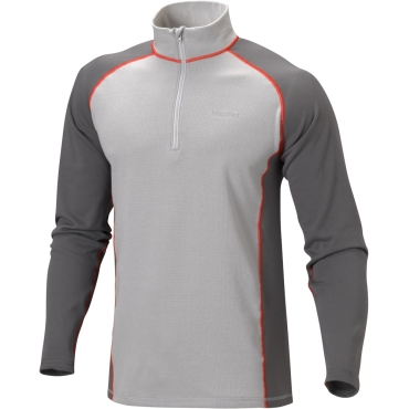 Mens Midweight Baselayer Zip Neck Top