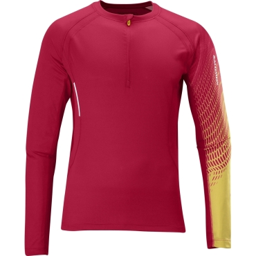 Mens Trail Runner+ Long Sleeved 1/2 Zip T-Shirt