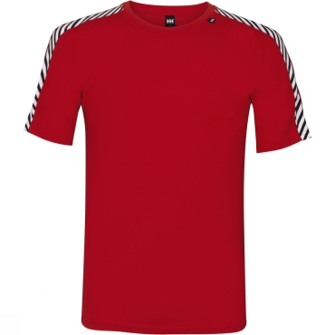 Mens Dry Stripe T