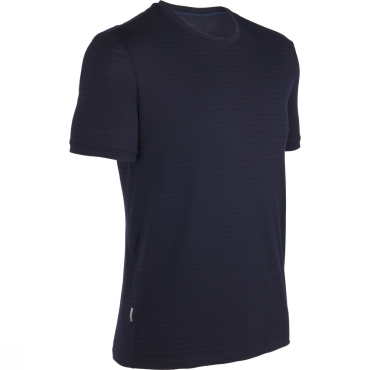 Mens Tech T Lite Stripe S/S