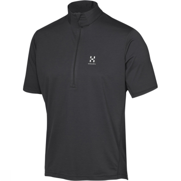 Mens Ridge Short Sleeve Zip Tee