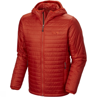 Mens Thermostatic Hooded Jacket