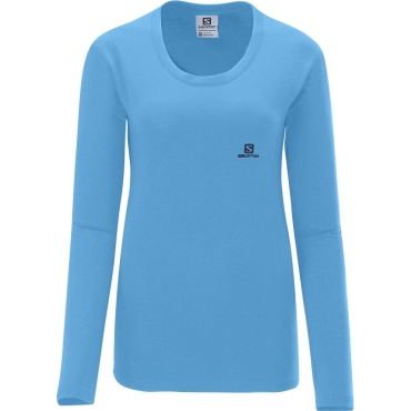 Womens Polylogo Long Sleeve Tee