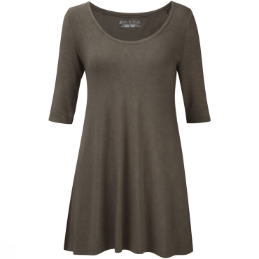 Womens Noe Elbow Sleeve Top