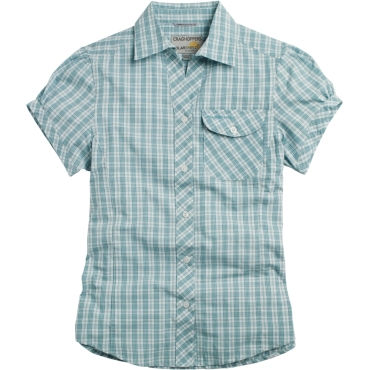 Womens Fiorella Short Sleeved Checked Shirt