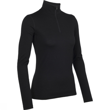 Womens Oasis Long Sleeve Half Zip