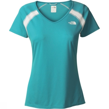 Womens Short Sleeve Reflex V-Neck Top