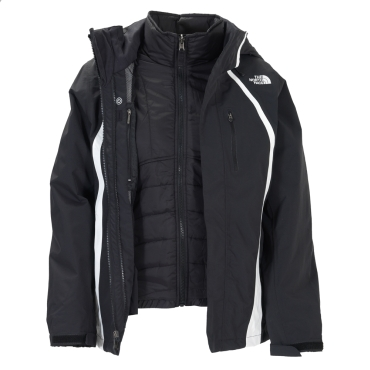 Womens Deuces Triclimate Jacket
