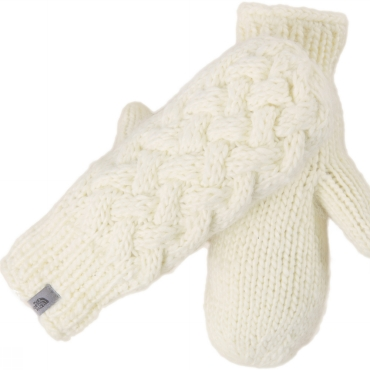 Womens Cable Knit Mitt