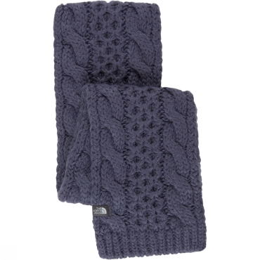 Womens Cable Minna Scarf