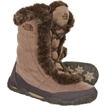 Womens Nuptse Fur IV Boot