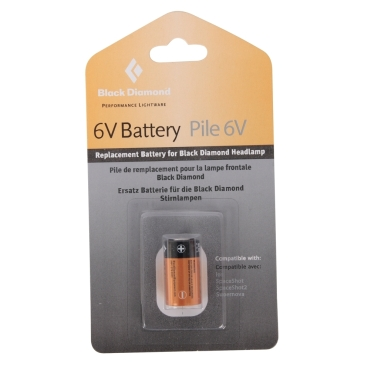 6V Battery for Ion Head Torch