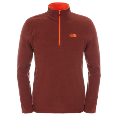 The North Face Mens Polartec 100 Glacier 1/4 Zip Fleece
