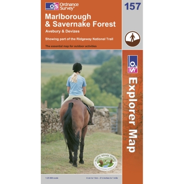 Explorer Map 157 Marlborough and Savernake Forest