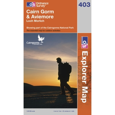 Explorer Map 403 Cairn Gorm and Aviemore