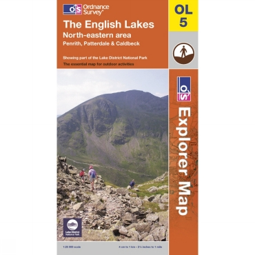 Explorer Map OL5 The English Lakes - North Eastern Area