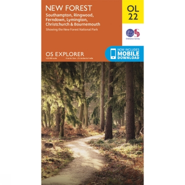 Explorer Map OL22 New Forest