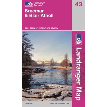 Landranger Map 43 Braemar and Blair Atholl