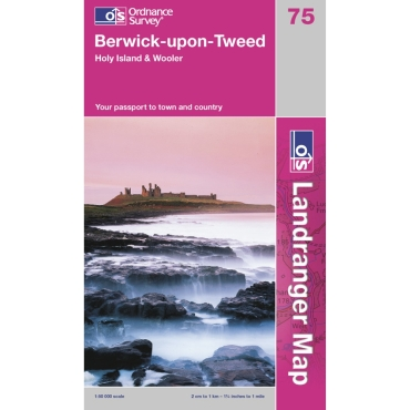 Landranger Map 75 Berwick- Upon-Tweed